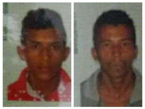 Suspeitos de roubo seguido de estupro em Presidente Vargas/MA