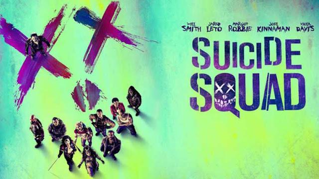 Poster promocional Escuadron Suicida 2016