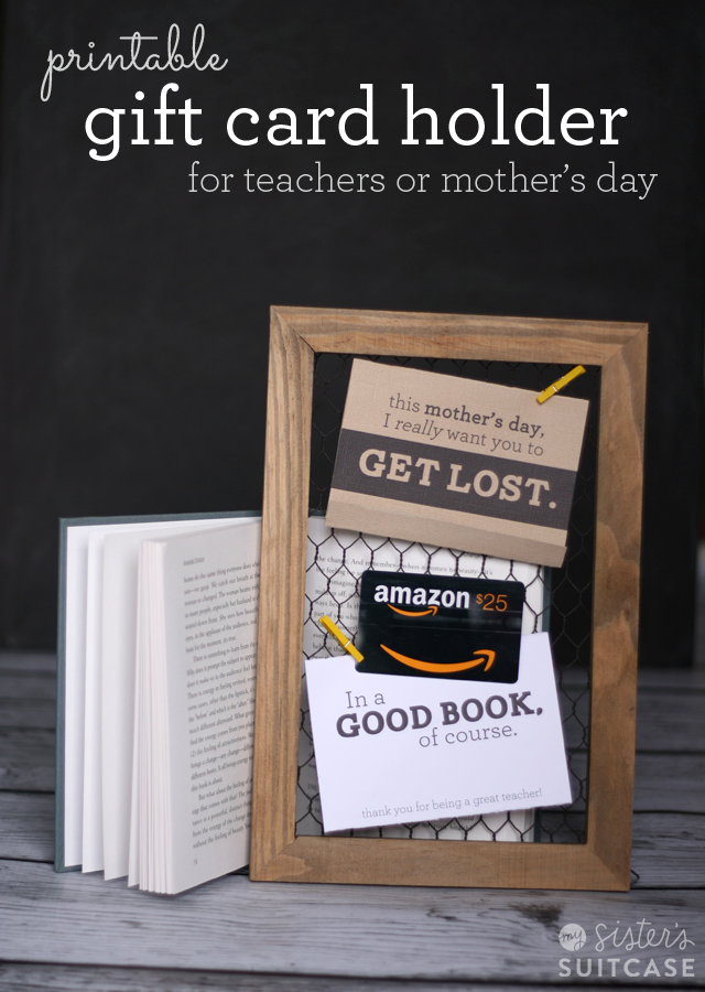 Mothers Day Gift Card Holder Amazon Giveaway My Sisters