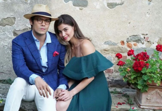Angel Locsin Looked Stunning in the Pre-Wedding Dinner of Anne Curtis and Erwan Heussaff!