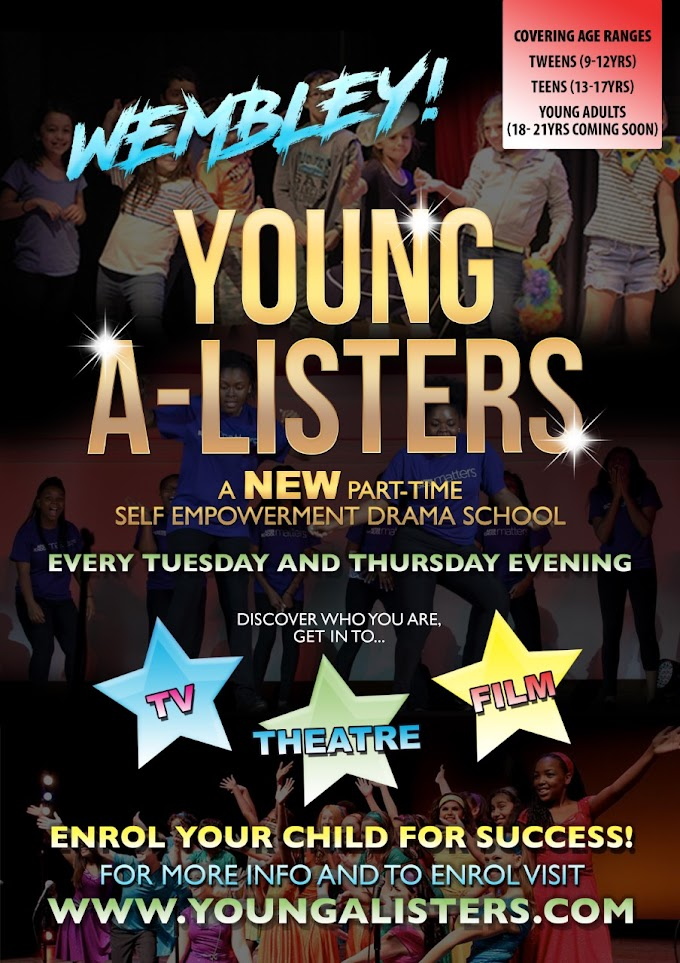 Free Trial Class: Young A-Listers Self Empowerment Drama School