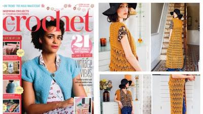 Maxi chaleco crochet vintage de Miss Moneypenny