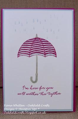 Weather Together, Retiring List, Oakfield Crafts, Stampin' Up! UK, Challenges