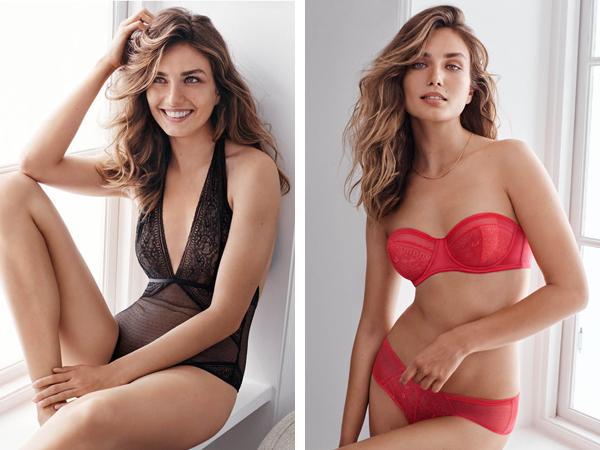body, sujetador y braguitas H&M Día de los Enamorados