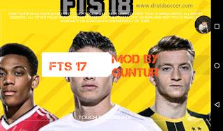 FTS 18 Mod APK Update Transfer 2018 by Guntur Terbaru