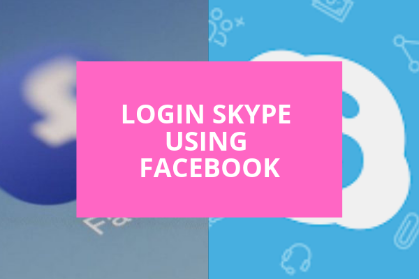 Login Skype Using Facebook