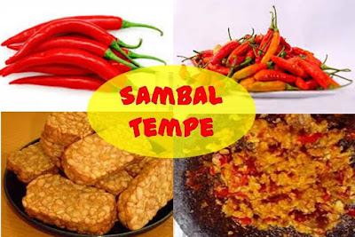 sambal tempe