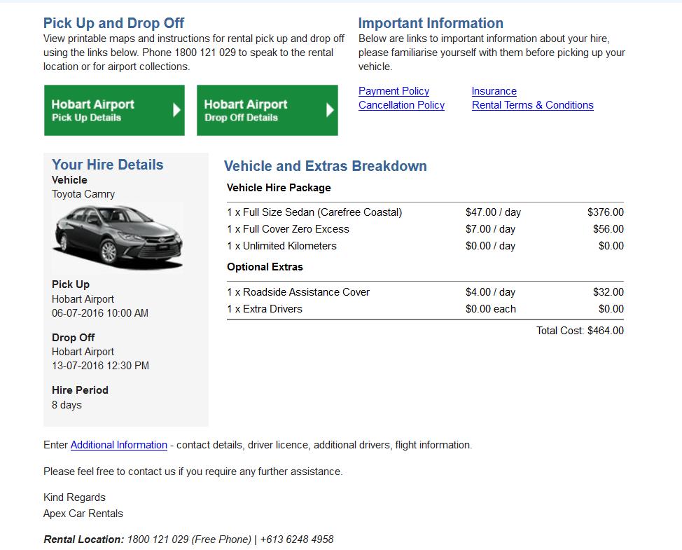 塔斯馬尼亞-租車-自駕-推薦-Tasmania-Apex-Car-Rental-Australia