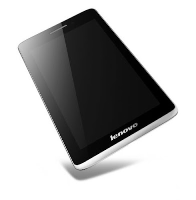 Lenovo S5000 Specifications - LAUNCH Announced 2013, September  Available with 3G/Wi-Fi or Wi-Fi only support DISPLAY Type IPS LCD capacitive touchscreen, 16M colors Size 7.0 inches (~63.9% screen-to-body ratio) Resolution 1280 x 800 pixels (~216 ppi pixel density) Multitouch Yes BODY Dimensions 190.5 x 116.8 x 7.6 mm (7.5 x 4.60 x 0.30 in) Weight 244.9 g (8.61 oz) SIM Micro-SIM - 3G model PLATFORM OS Android OS, v4.2 (Jelly Bean), upgradable to v4.3 (Jelly Bean) CPU Quad-core 1.2 GHz Cortex-A7 Chipset Mediatek MT8125 or MT8389 GPU PowerVR SGX544 MEMORY Card slot microSD, up to 64 GB (dedicated slot) Internal 16 GB, 1 GB RAM CAMERA Primary 5 MP, autofocus Secondary 1.6 MP Video Yes NETWORK Technology GSM / HSPA 2G bands GSM 850 / 900 / 1800 / 1900 - 3G model 3G bands HSDPA 900 / 2100 - 3G model Speed HSPA - 3G model GPRS Yes - 3G model EDGE Yes - 3G model COMMS WLAN Wi-Fi 802.11 b/g/n GPS TBD USB microUSB v2.0, USB Host Radio No Bluetooth v4.0 FEATURES Sensors Accelerometer Messaging Email, Push Email, IM Browser HTML Java No SOUND Alert types Vibration; MP3, WAV ringtones Loudspeaker Yes 3.5mm jack Yes BATTERY  Non-removable Li-Ion 3450 mAh battery Stand-by  Talk time Up to 8 h (multimedia) Music play  MISC Colors Silver Grey  - MP3/WAV/WMA/AAC player - MP4/H.264 player - Document viewer - Photo viewer/editor
