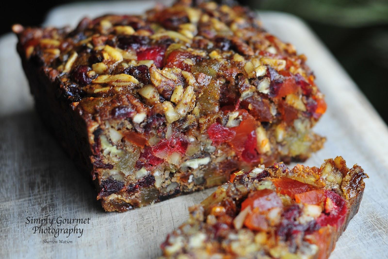 Cherry Brandy Fruit Cake Recipe
