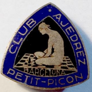 Insignia del Club de Ajedrez Petit-Picón