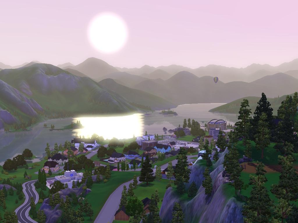 Los Sims 3 un retiro con clase hidden springs