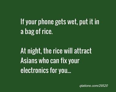 Fakta atau Mitos, Beras bisa selamatkan ponsel basah