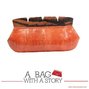 Queen Maxima style A BAG WITH A STORY Clutch