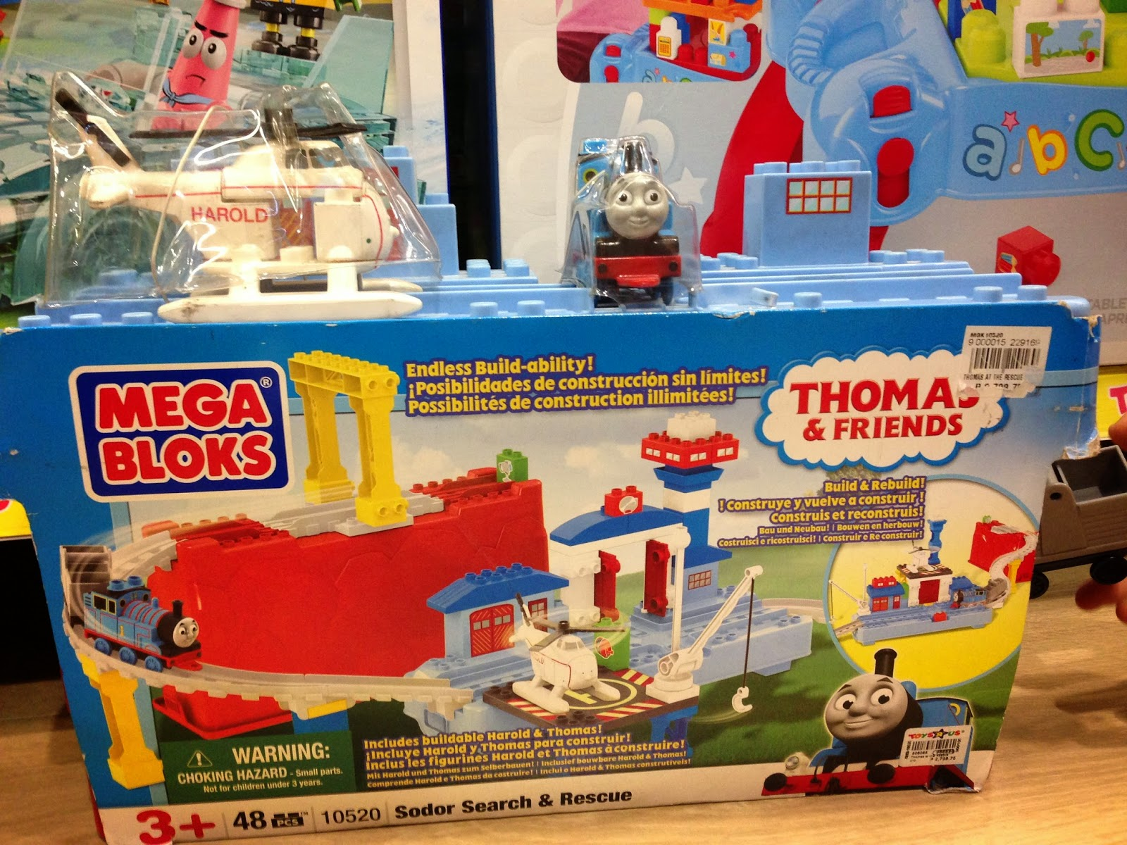Thomas & Friends Mega Bloks on Sale in Manila, Philippines.  Toys R' Us and Toy Kingdom (Sodor Search & Rescue)