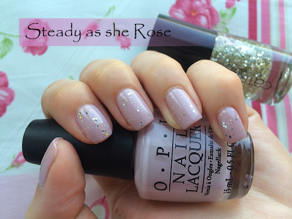 ♥ OPI - Steady as she Rose ♥