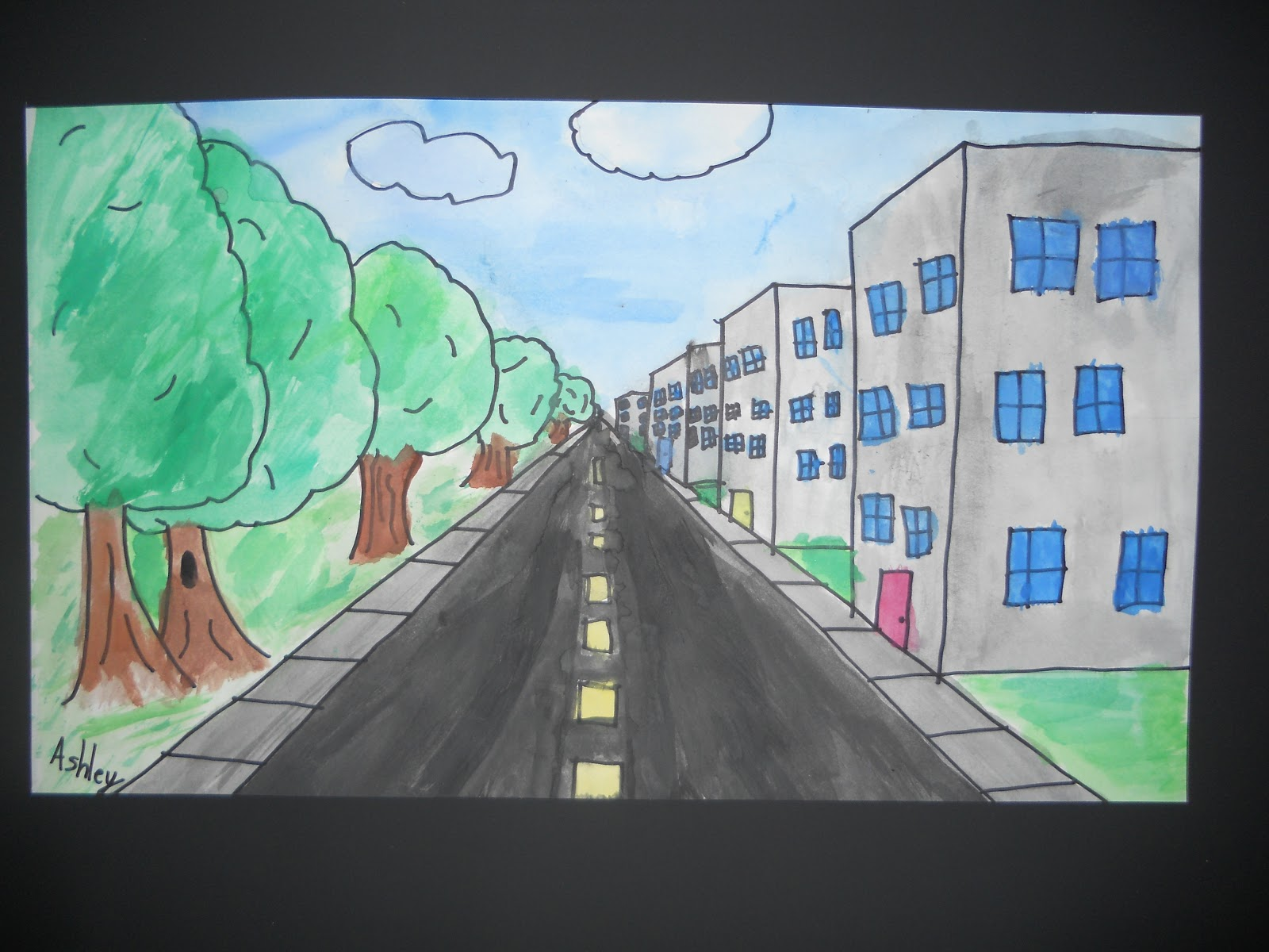 Related Keywords Amp Suggestions For One Point Perspective Art
