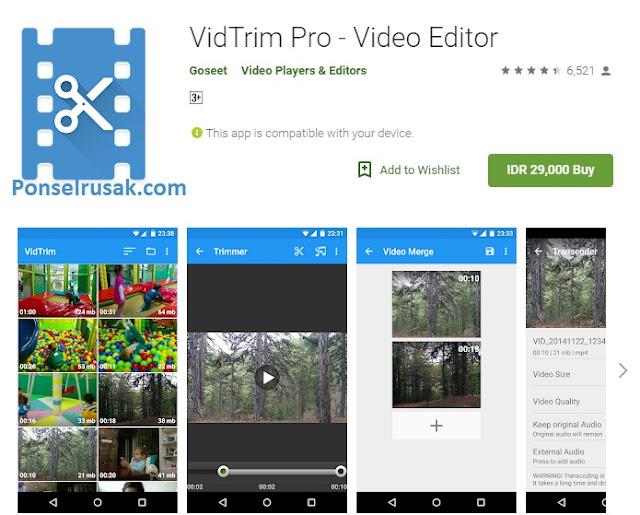 Aplikasi untuk edit dan membuat video terbaik.