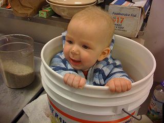 Image: My Nephew in a Bucket, by Jonny Hunter on Flickr
