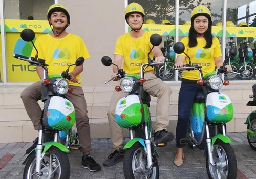 Tinuku.com Migo made debut the first ebike ride-sharing in Indonesia