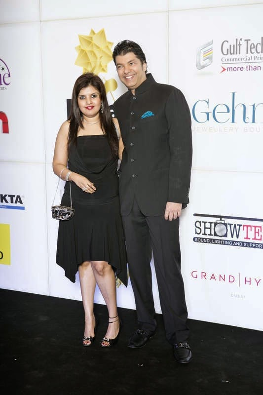 Puja and Lavesh Jagasia, Masala! Awards 2014 Photo Gallery