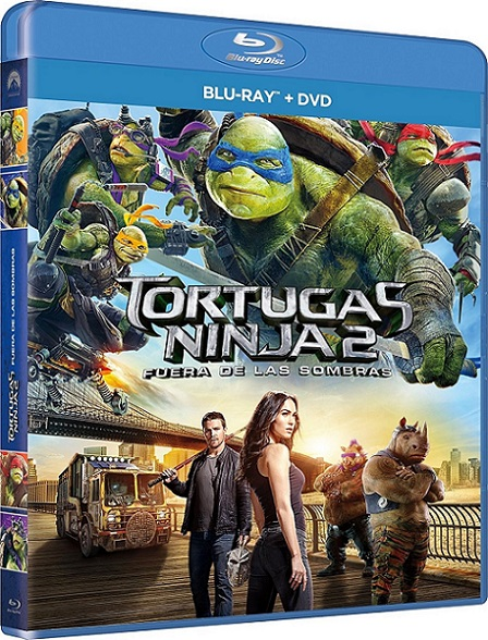 Teenage Mutant Ninja Turtles: Out of the Shadows (Tortugas Ninja: Fuera de las Sombras) (2016) 1080p BluRay REMUX 28GB mkv Dual Audio Dolby TrueHD ATMOS 7.1 ch
