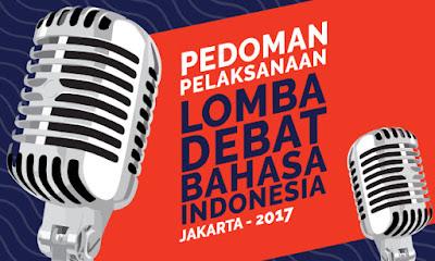 Lomba Debat Bahasa Indonesia 2017