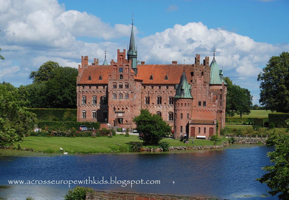 Egeskov Slot water castle
