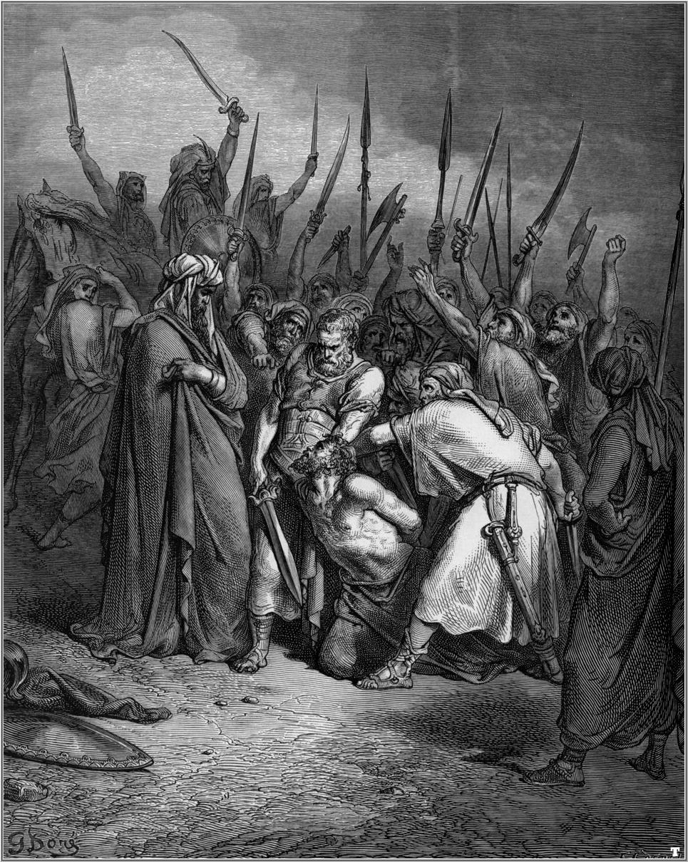 Saul later disobeyed the Eternal and lied to Samuel when, instead of killing all the Amalekites and destroying all their possessions, he kept the evil Amalekite king alive and tried to take the best of the animals for himself (1 Samuel 15:1-26).