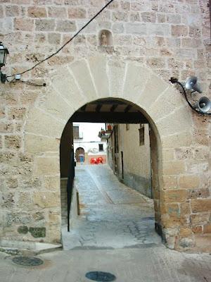 portal, San Roque, San Roc, cuesta, Beceite, Beseit
