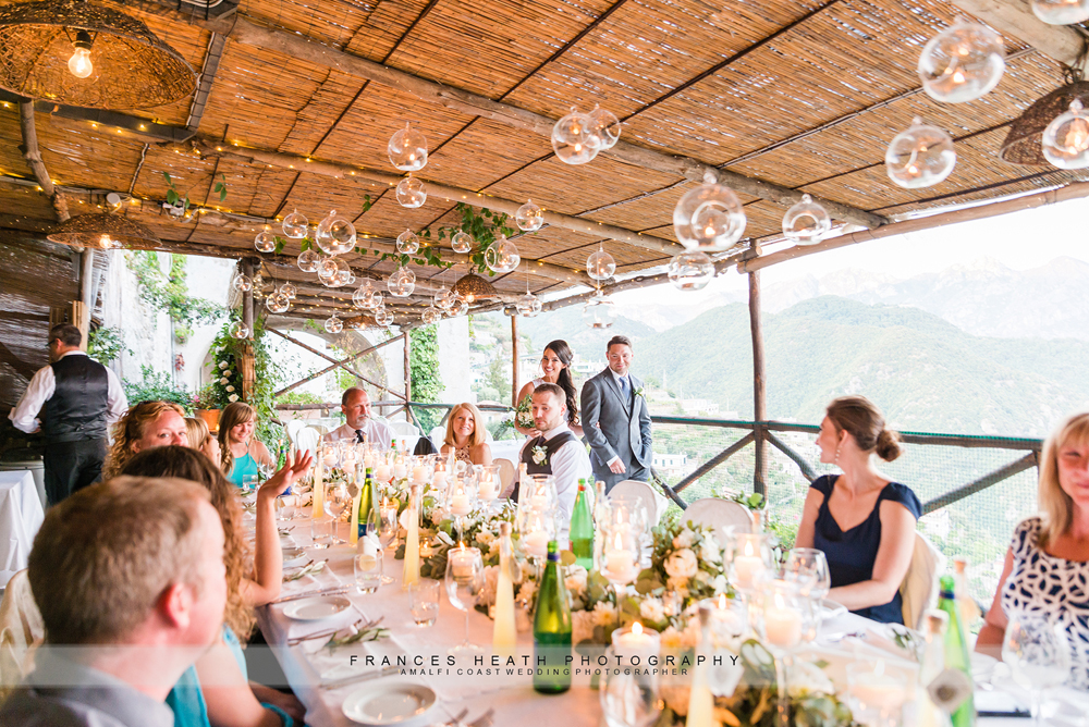Rustic wedding in Ravello