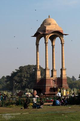 Parque-India-Gate