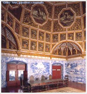 Sala dos Brasões; Palácio Nacional de Sintra; Portugal; sem guia; Europa;