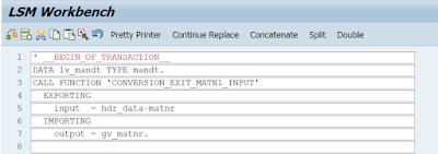 How to get the new ABAP editor in LSMW