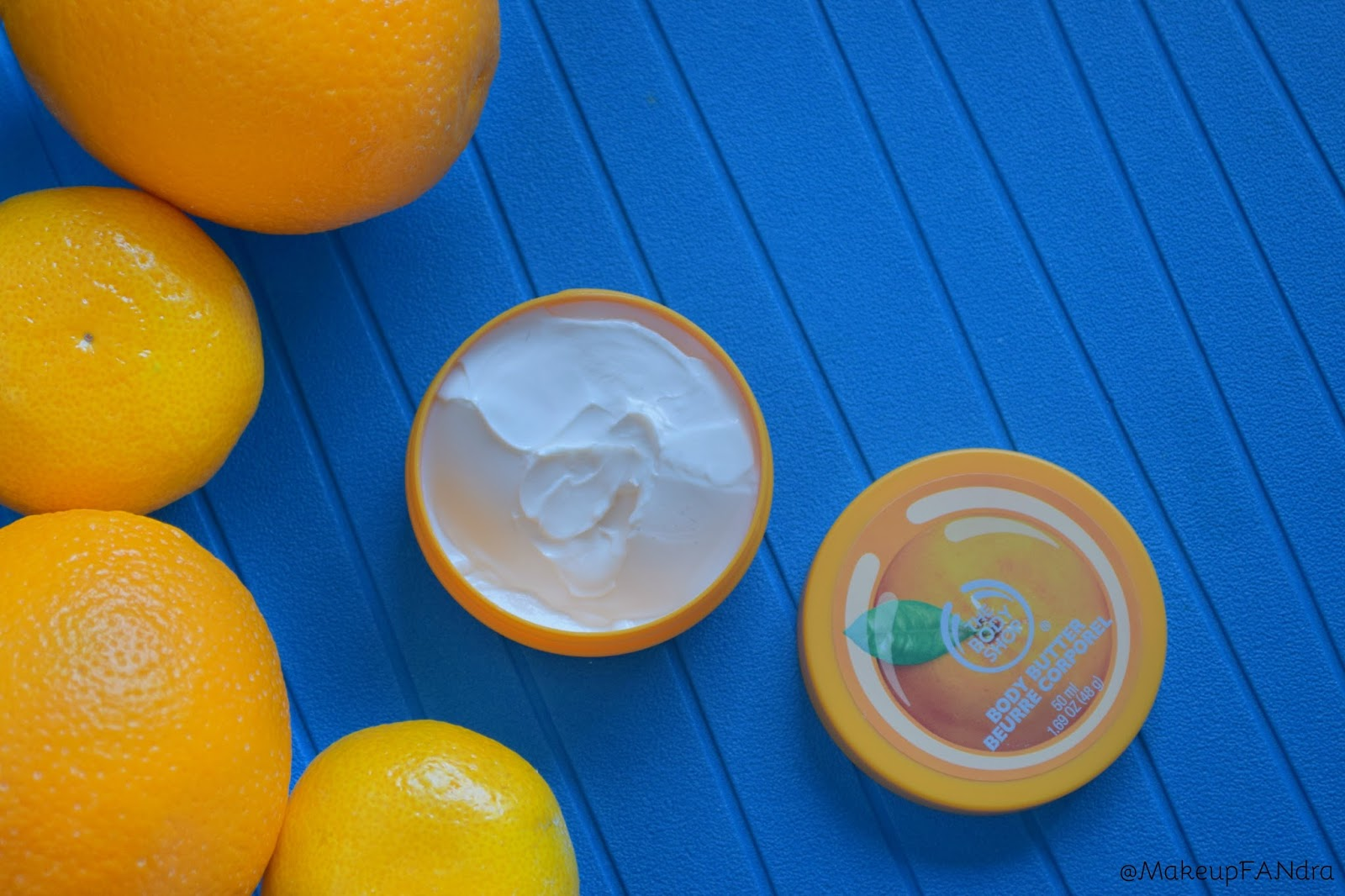 The body shop body butter satsuma 1
