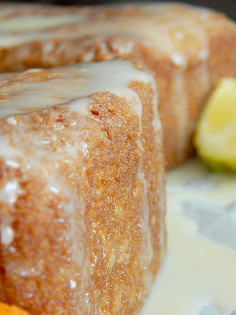 Double Glazed Citrus Loaf...tangy, soft, full of citrus flavor and glazed...TWICE! (sweetandsavoryfood.com)