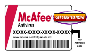 how to activate mcafee product key