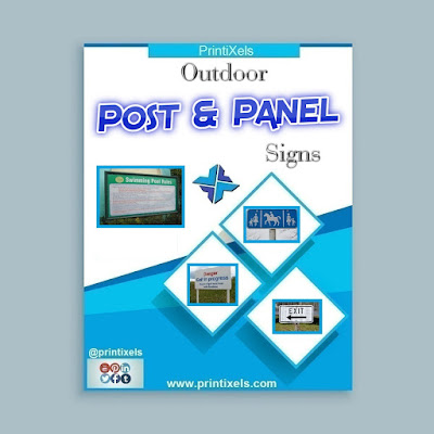 Outdoor Post & Panel Signs