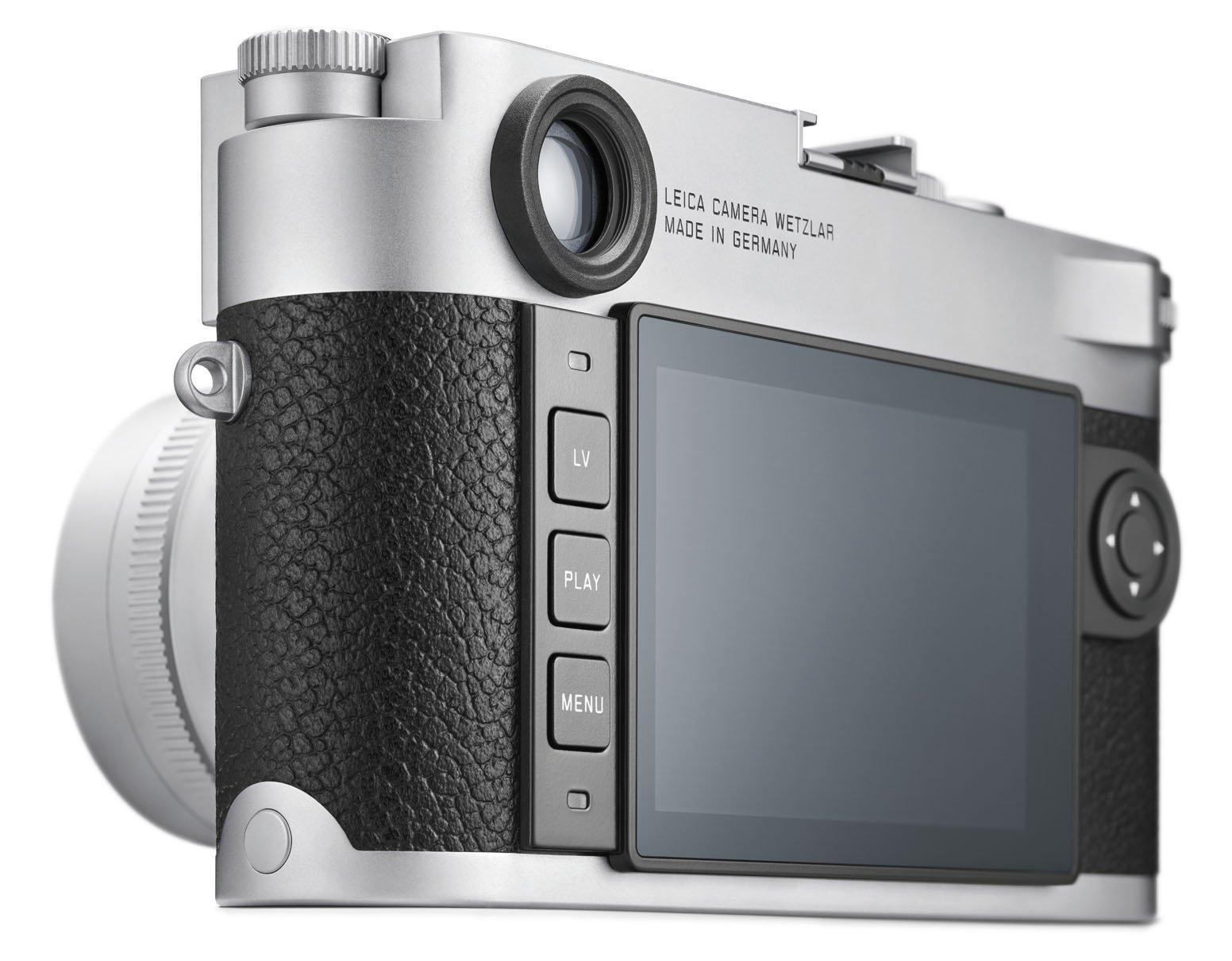 Leica M10, задняя панель