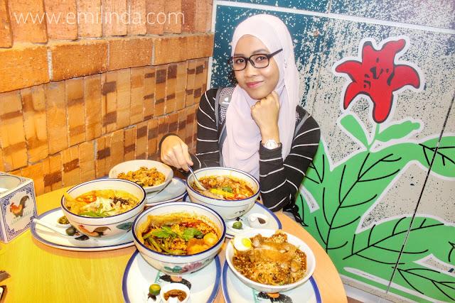 Lokasi Makan Sekitar Cyberjaya - Restoran Mangkuk Ayam @ DPulze Mall