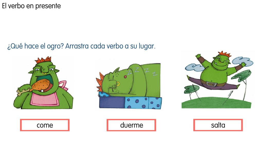 http://www.primerodecarlos.com/SEGUNDO_PRIMARIA/marzo/Unidad1_3/actividades/lengua_sant_ana/verbo_presente.swf