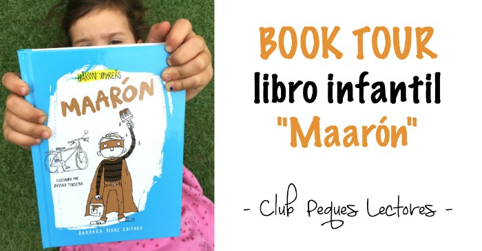 """libro infantil """"Maarón"""" de Hakon Ovreas editado por Barbara Fiore Editora. book tour"""