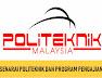 Senarai Kursus/ Program Di Politeknik Seluruh Malaysia