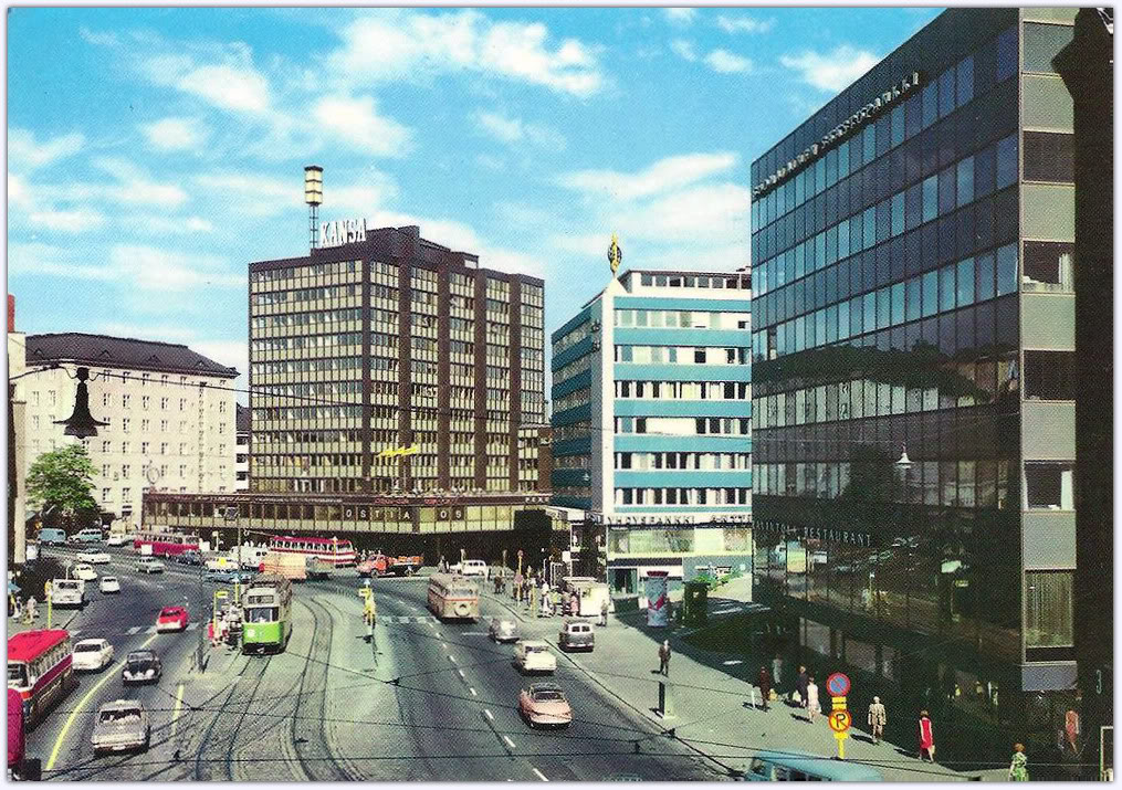 14 Beautiful Color Photos Of Helsinki In The 1950s And The