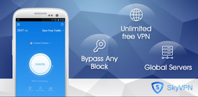 SkyVPN Mod Apk for Android -Best Free VPN Proxy for Secure WiFi Hotspot