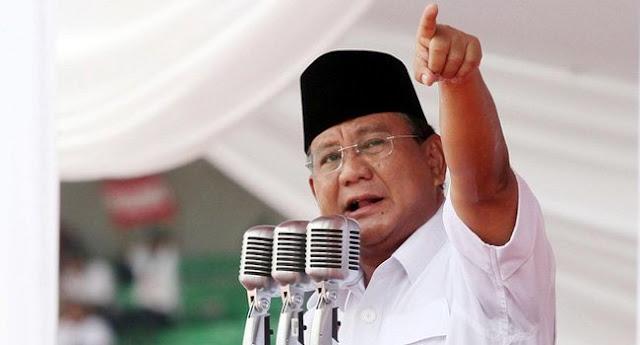 Prabowo: Hati-hati, Negara Dan Elite Kita Sedang Sakit!