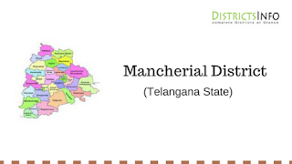 Mancherial District with Mandals