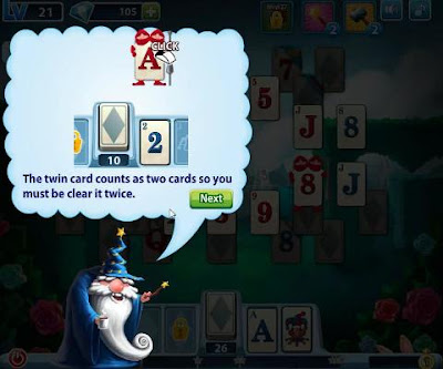 Solitaire in wonderland tips & help