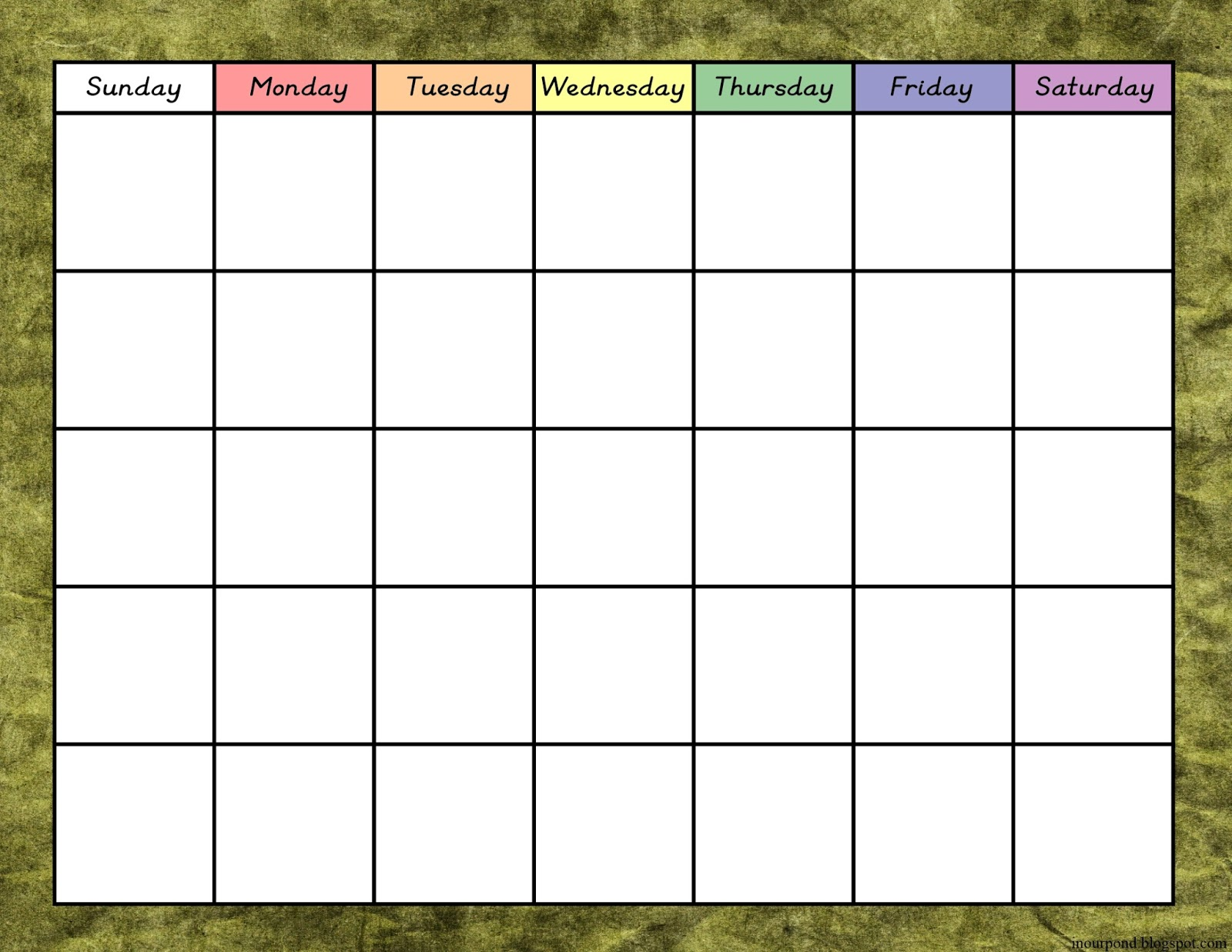 Classroom Elf Ideas ~ Jungle classroom calendar in our pond