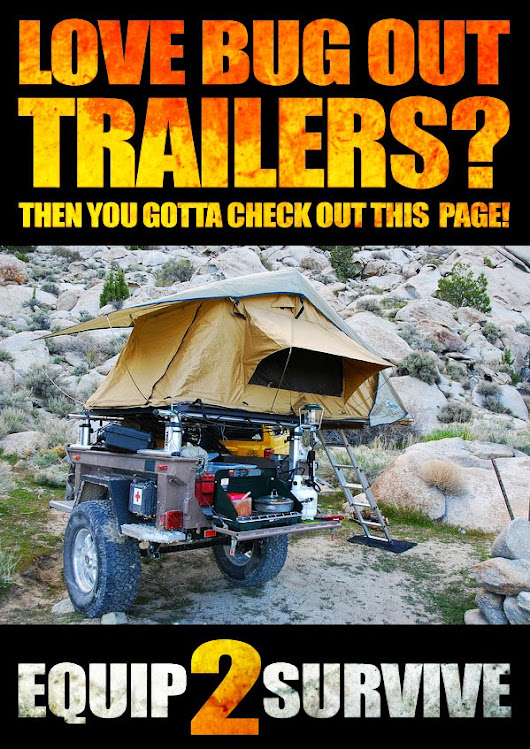 Why A Bug Out Trailer Should Be A Part Of Your Preps!